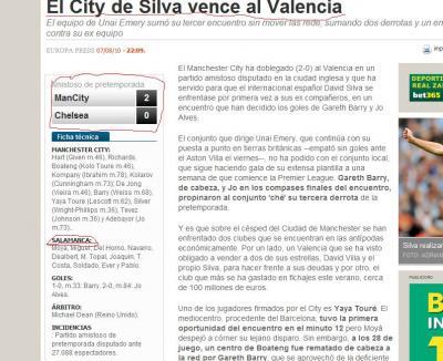 Valencia, Chelsea, o Salamanca????